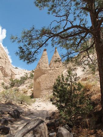 Kasha-Katuwe Tent Rocks National Monument: hoodoos