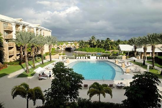 The Ritz Carlton Grand Cayman Never Crowded Pool On Opposite Side Of
