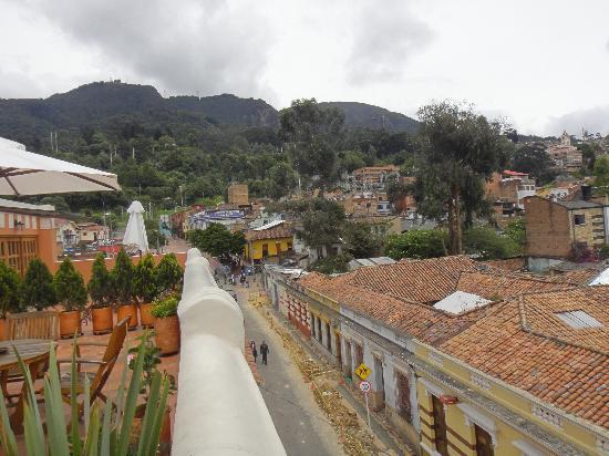 Hotel Casa Deco : Vista dal terrazzo