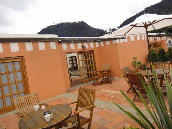 Hotel Casa Deco : Terrazzo