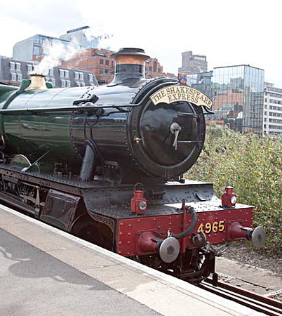 The Shakespeare Express: Engine at Snow Hill