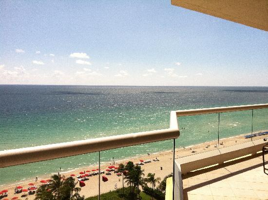 Acqualina Resort & Spa on the Beach: What a view! 1 BR Oceanfront Suite