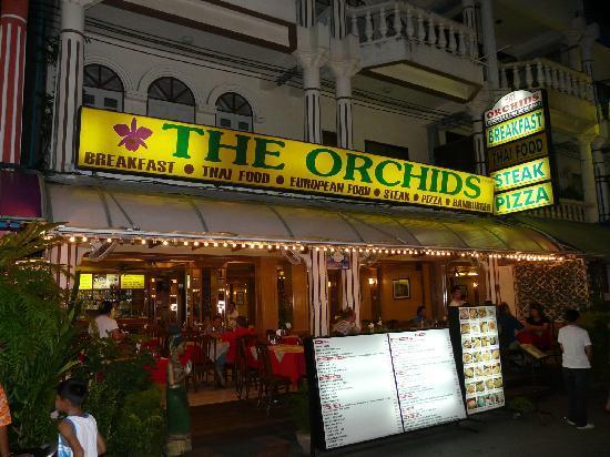 The Orchids Restaurant : Das Restaurant von außen