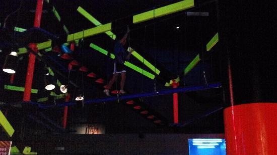 WonderWorks: indoor rope course