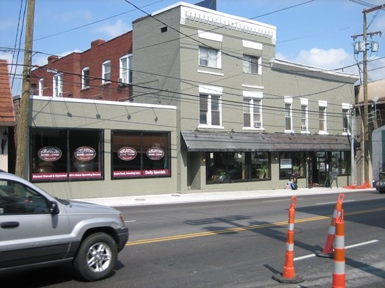 Morgantown Brewing Company: university ave at pleasant st.