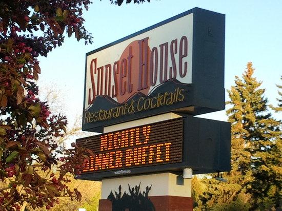 Sunset House Restaurant, Cody, WY