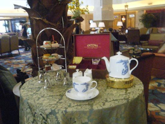 Grand Central Hotel Shanghai: Tea time
