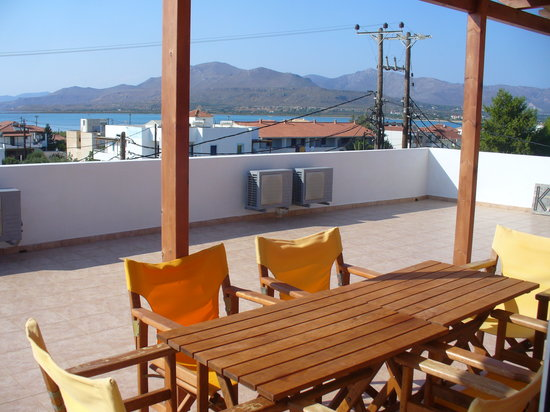 Calypso Hotel : la terrazza all'ultimo piano