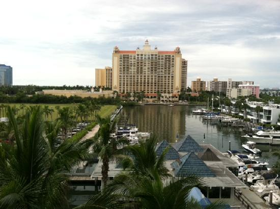 Hyatt Regency Sarasota: View of the marina from third-floor room