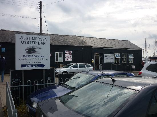 The Mersea Island Oyster Bar.