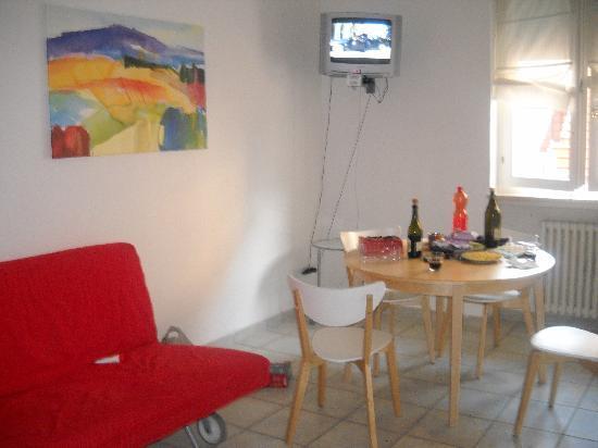 Verona Inn: the soggiorno