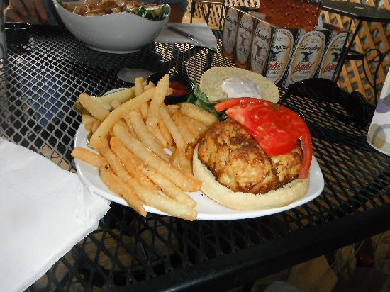 Ambrae House: My huge crabcake