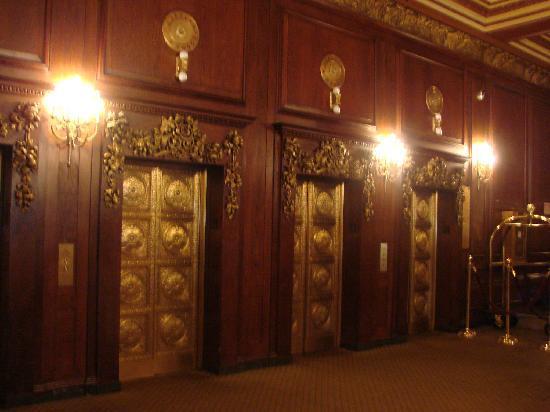 ออมนิพาร์คเกอร์เฮ้าส์: Elevators