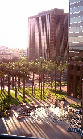 Hilton Phoenix Suites: View from our room