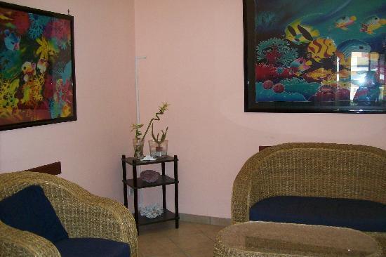 Hotel Villa Marina: la piccola hall