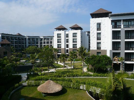 โรงแรมพูลแมน บาหลี ลีเกี้ยน เนอร์วานา: View from room