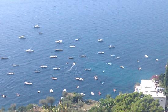 โรงแรมปาซิที: Amazing view from the terrace