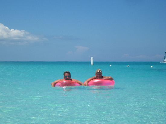 Club Med Turkoise, Turks & Caicos: Mon Chéri d'amour et moi