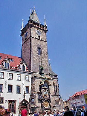 Old Town Hall with Astronomical Clock: Astronomical Clock & Tower