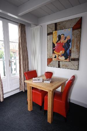 Bed & Breakfast De Vossenpoort: Zorro breakfast corner