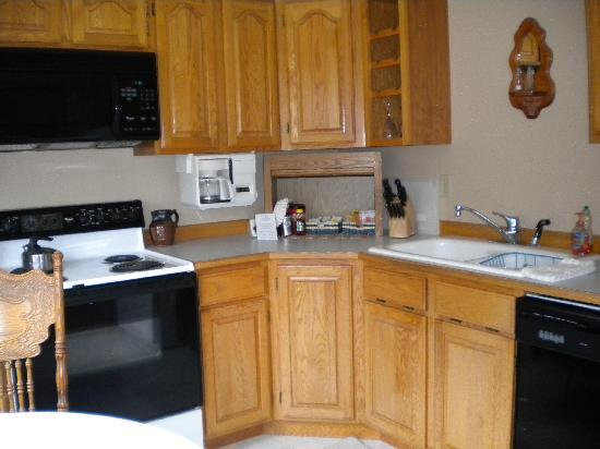 Nordic House Bed & Breakfast: Kitchen area of the suite