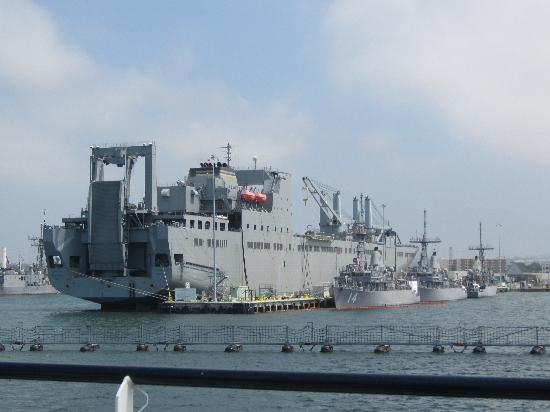 Us Navy Preposition Ship Navy Base San Diego Picture
