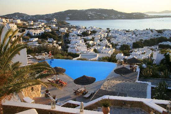 Vencia Hotel: View from Vencia