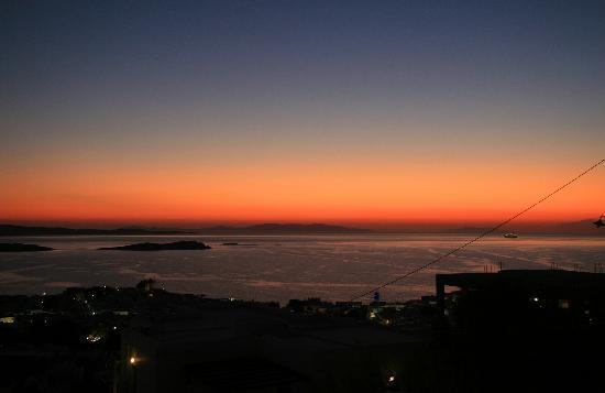 Vencia Hotel : Sunset from Vencia