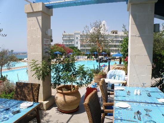 Atlantica Club Sungarden Hotel: View from the restaurant