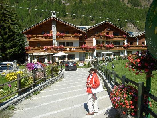 Hotel Bouton d'Or: tipica struttura di montagna