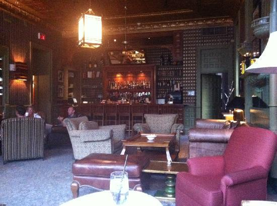 Hotel Jerome, An Auberge Resort: Library Bar
