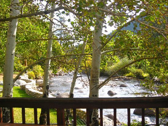 Brynwood on the River: view from the deck