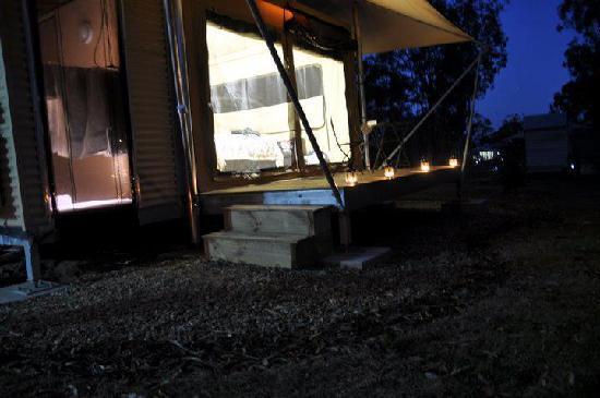 Ketchup's Bank Glamping: Tent
