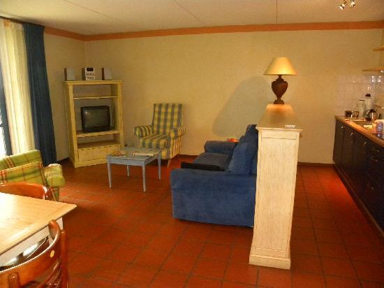Hotel Graaf Bernstorff: living area
