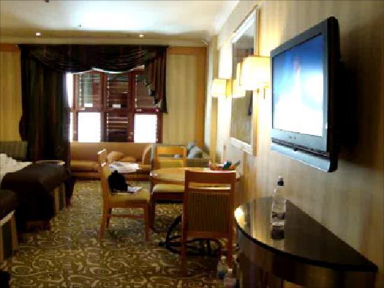 Makkah Hilton Hotel: room