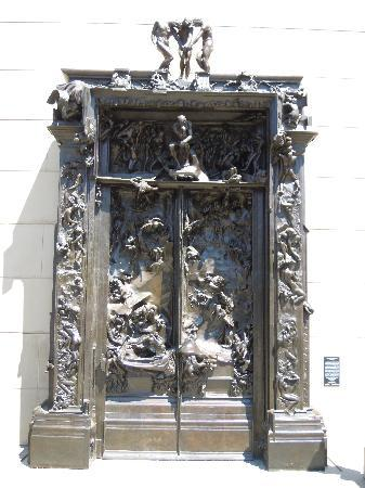 Palo Alto, CA: Rodin's Gate of Hell