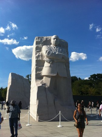 Martin Luther King, Jr. Memorial: This picture capture MLK's simple greatness