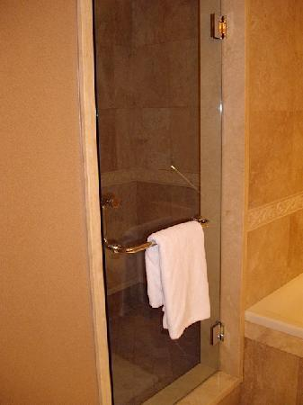 Wedgewood Hotel & Spa: Walk in shower