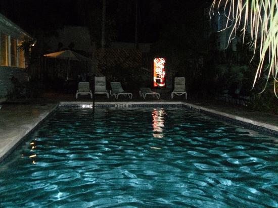 Private Pool At Night Picture Of Rose Lane Villas Key