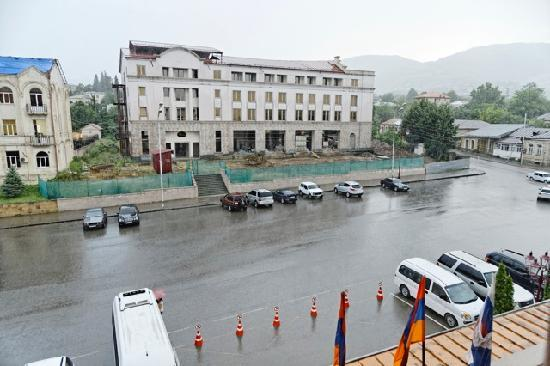Armenia Hotel: View out of room