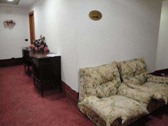 Al Gabbiano Hotel: Hallway