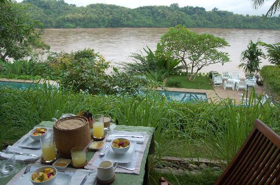 Mekong Estate: Breakfast is served