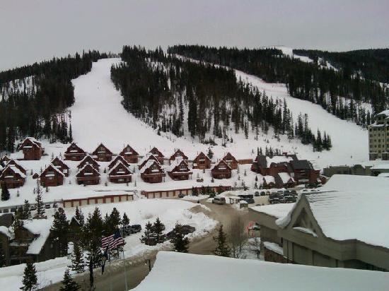 Shoshone Condominium at Big Sky Resort: View of Silver Knife from my room