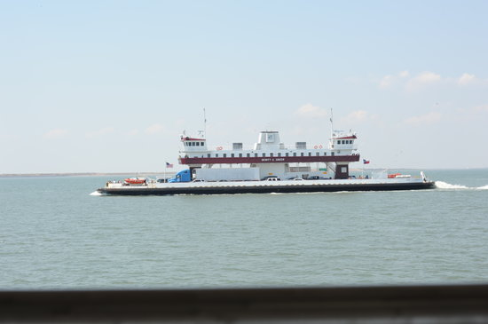 Galveston - Port Bolivar Ferry