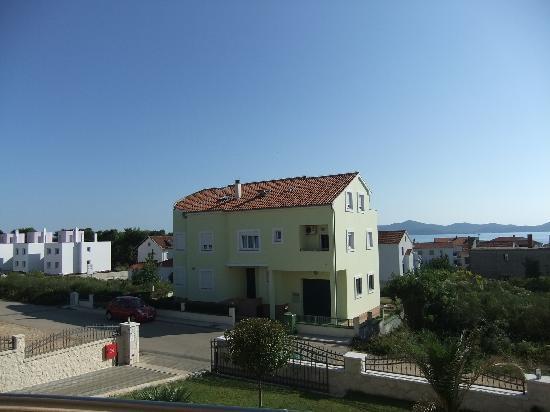 Villa Gravic: View from second-floor balcony