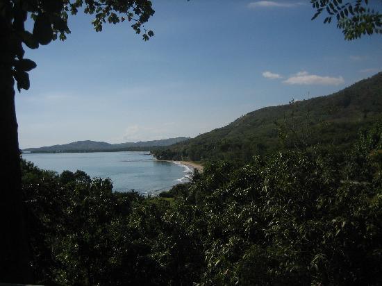 Jardins sur Mer: View from restaurant terrace