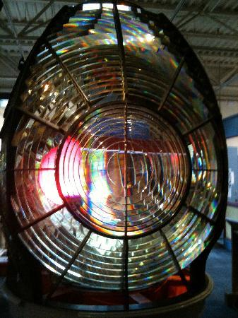 Maritime Museum of the Atlantic: Lens from a lighthouse light!