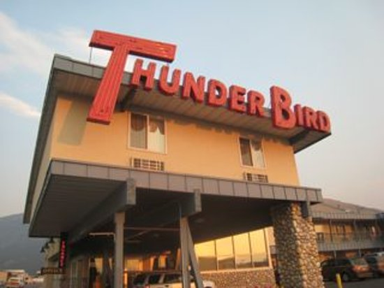 Thunderbird Motel: Here's the entrance - easy to find.