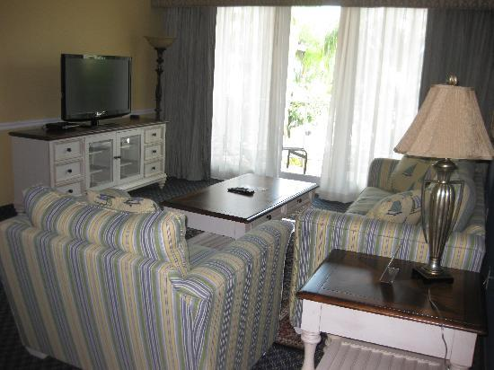 Safety Harbor Resort and Spa: living room