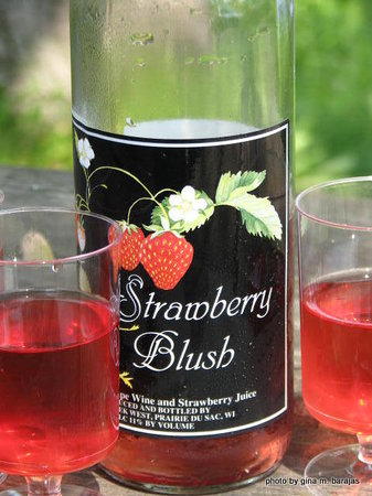 Cedar Creek Winery: The infamous and delicious Strawberry Blush Wine